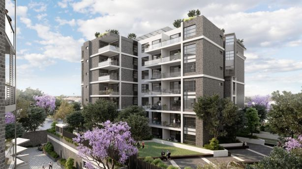 Artis's impression of new development in Petersham, The Siding. Photo: Artist's impression
