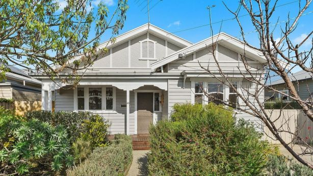 A Californian archetype in Ann Street, Geelong West. Photo: Hodges Geelong listing