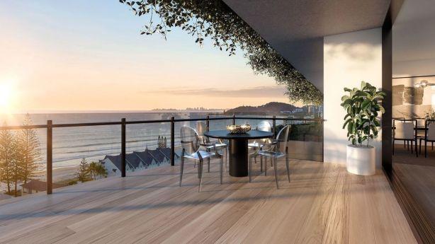 A coastal sanctuary: Magnoli Apartments at Palm Beach. Photo: Sunland Group