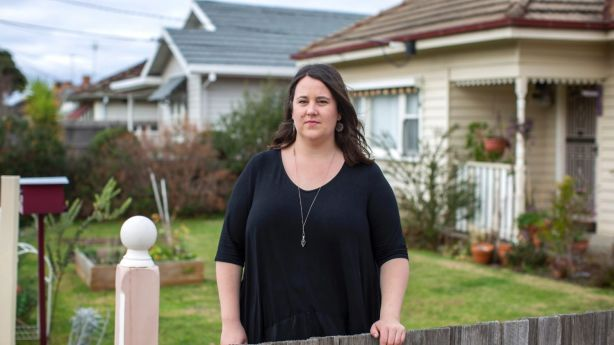 Morgana Russell has moved multiple times since she began renting in Melbourne eight years ago. Photo: Stephen McKenzie