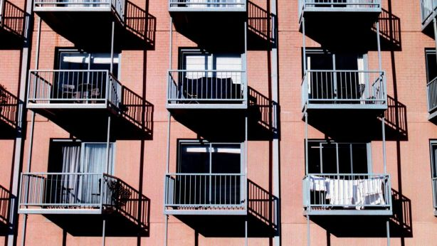 Single parents living in rented apartments are particularly at risk of financial stress, a new study has revealed. Photo: Louie Douvis