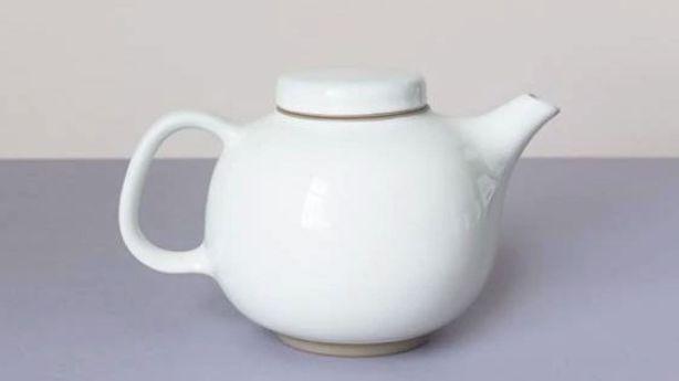 One of Karen Walker's favourite things: Royal Doulton Olio teapot. Photo: Stuff