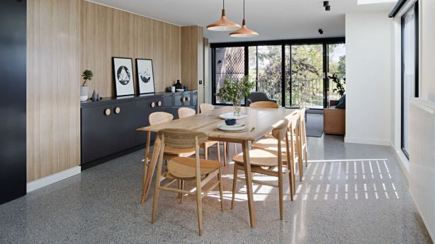 After: The interior designer introduced hero joinery throughout the house Photo: Tatjana Plitt