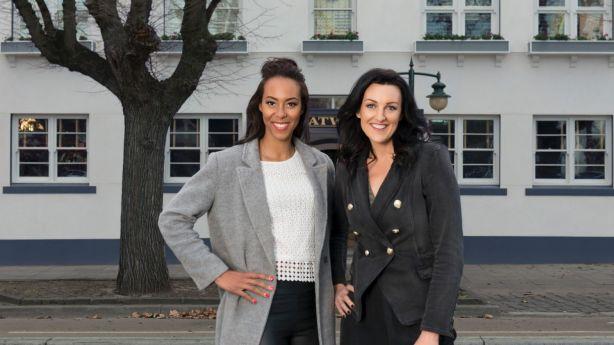 The Block 2018 Melbourne contestants Carla Dziwoki and Bianca Chatfield. Photo: Carmen Zammit
