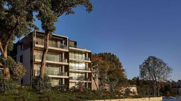 Medium density developments above 100 dwellings winner was Harbourfront Balmain by TOGA. Photo: supplied