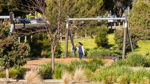 Broadmeadows Progress Association secretary Sonja Rutherford says neighbourhood parks were essential for the area. Photo: Greg Briggs