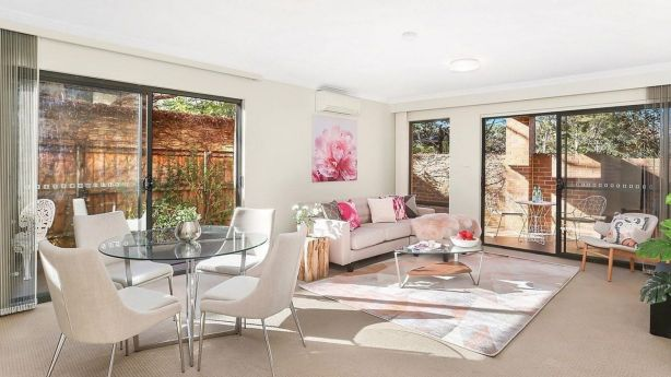 A ground floor apartment at 1/7 Palmer Street, Artarmon, sold for $1,095,000. Photo: Supplied.