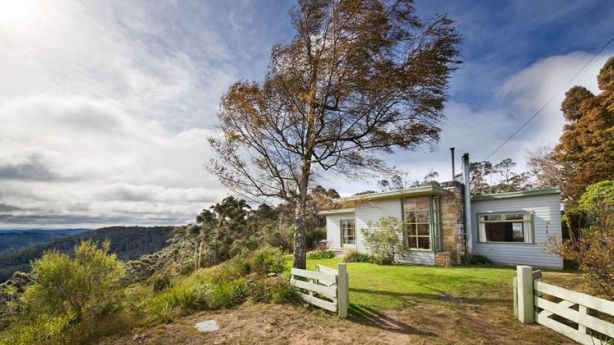 Seven Sisters, a 1950s restored cottage in Medlow Bath, came second in the Nature category. Photo: Homeaway.com.au