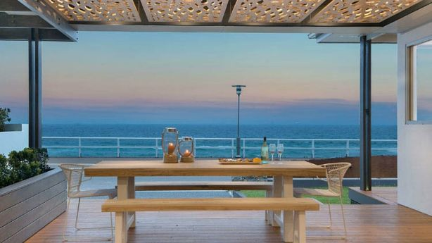 The Beach House at Merewether, where the location is one of the many selling points. Photo: Homeaway.com.au