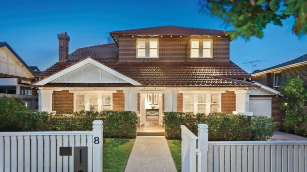 There there five bidders interested in this renovated home in Kew. Photo: Supplied