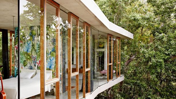 Planchonella House by Jesse Bennett Studio illustrates the heights of garden glory that prestige homeonwers can achieve. Photo: Sean Fennessy