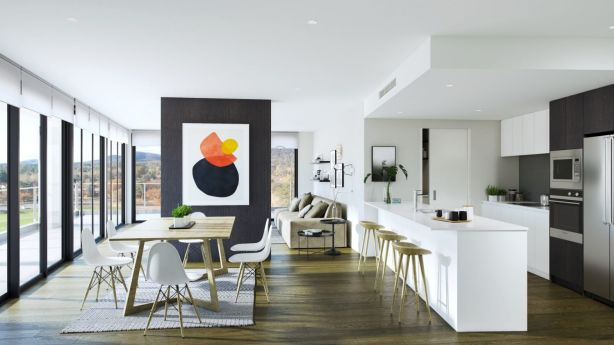 Interiors at The Grounds are light and bright. Photo: Independent Property Group
