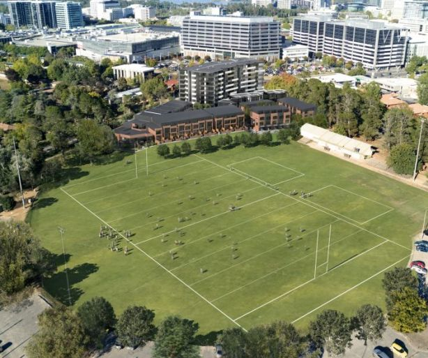 It will be located at the southernmost side of the historic Northbourne Oval. Photo: Independent Property Group