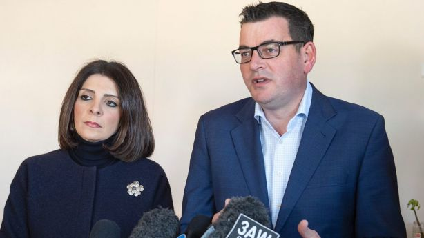 Consumer Affairs minister Marlene Kairouz, and premier Daniel Andrews, have talked up the changes for close to a year. Photo: Ellen Smith