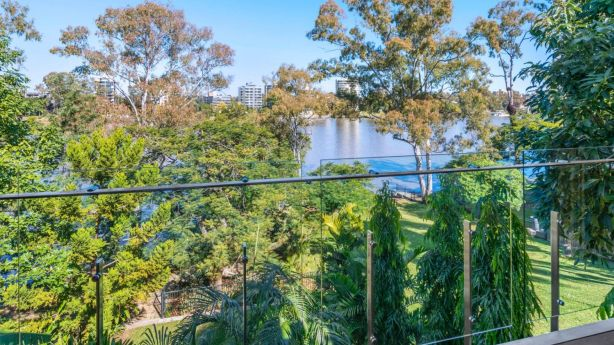 The best of Brisbane: beautiful river views with breezes all year-round. Photo: Ray White New Farm