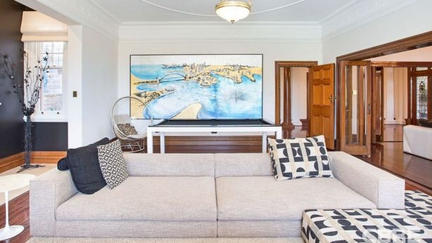 The six-bedroom, five-bathroom residence has formal living and dining rooms and a billiard room. Photo: Supplied