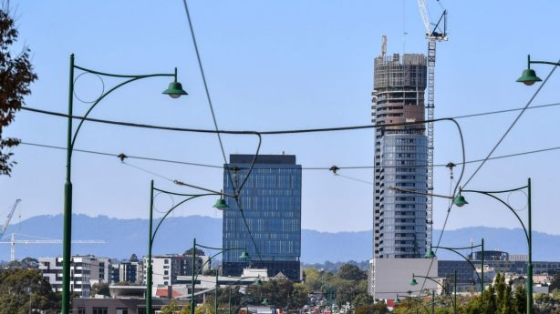 New developments and investor activity in Box Hill have contributed to its staggering price growth. Photo: Eddie Jim