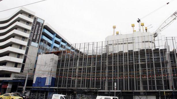 Construction has been heavy over the past few years in Travancore. Photo: Rebecca Hallas
