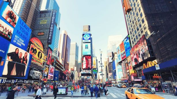 Times Square New York. Photo: iStock