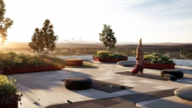 Mulberry in Dickson will feature two rooftop gardens: a zen garden and a vegetable garden. Photo: Art Group