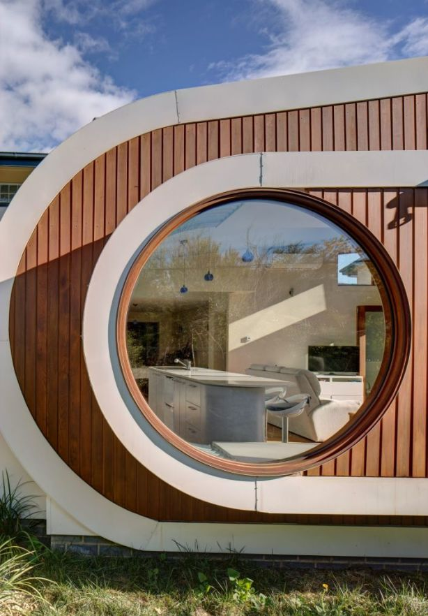 The focal point is the 1.6-metre wide circular window. Photo: Brett Boardman