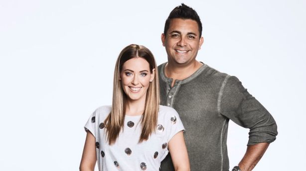 Georgia and Ronnie were contestants on season 13 of The Block. Photo: Channel Nine