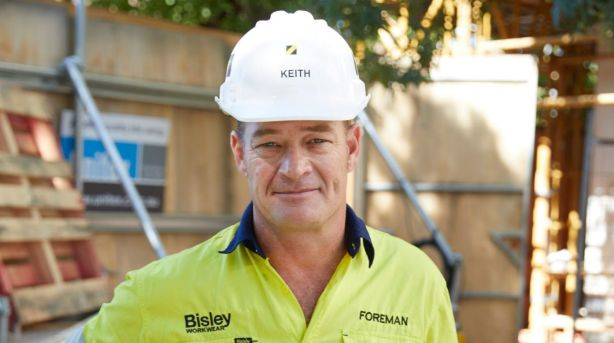 Remember that Keith the foreman is always right. Photo: Channel Nine