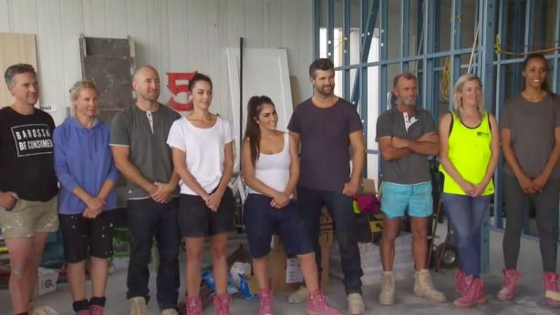 The contestants on this year's The Block. Photo: Channel Nine