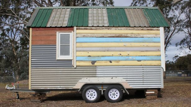 The only 'new' item used in the construction is the trailer itself. Photo: The Bower
