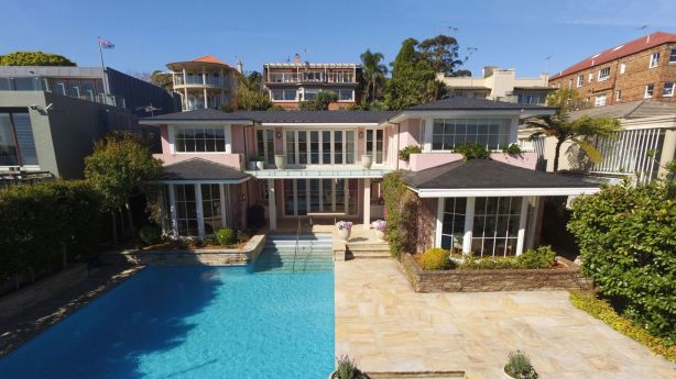 The Lewis family have put Deepwater in Vaucluse up for sale. Photo: Supplied