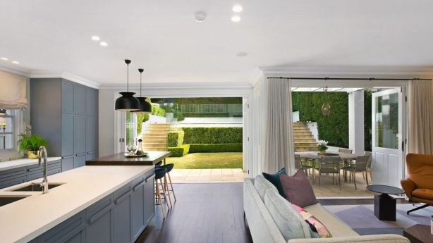The Bellevue Hill residence was designed by Sue Whelan Architects. Photo: Supplied
