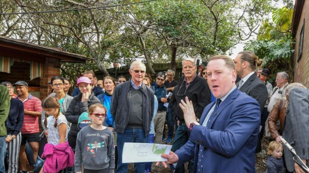 Sydney auction numbers over winter were down 23 per cent year on year. Photo: Peter Rae SMH