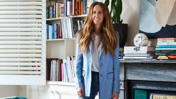 Sydney-based fashion stylist Tash Sefton in her Mosman home. Photo: Caitlin Mills