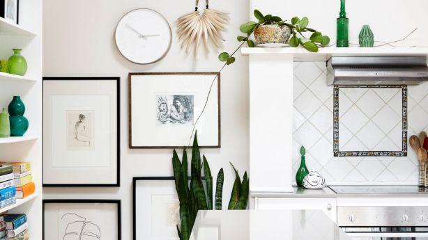 Sefton's home exudes effortless style. Photo: Caitlin Mills
