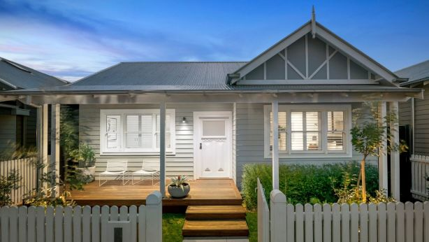 46B Regent Street, Elsternwick is also the home designed and built by Sticks and Wombat on The Block. Photo: The Agency