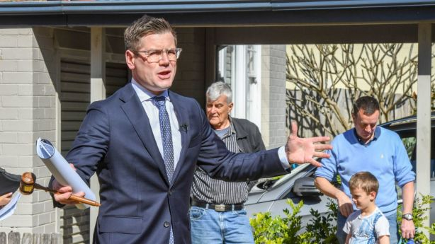 Close to 15 per cent of vendors selling in March were looking to sell via auction. By August this had dropped to about 7 per cent. Photo: Peter Rae.