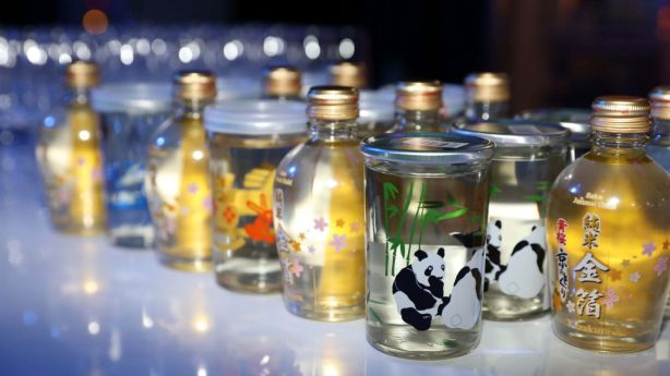 A highlight for guests was the saké and champagne bar.