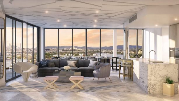 Those views: Gallery House One at Northshore Hamilton.
