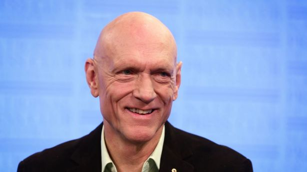 Former politician and Midnight Oil frontman Peter Garret. Photo: Alex Ellinghausen