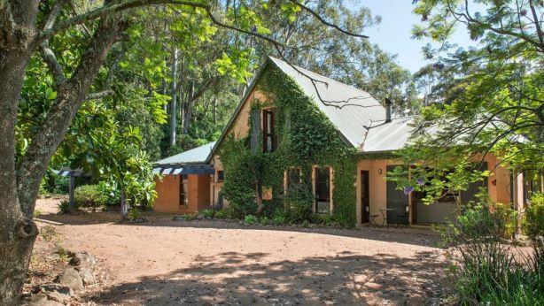 Hartland has three bedrooms, two bathrooms and a separate garage-studio.