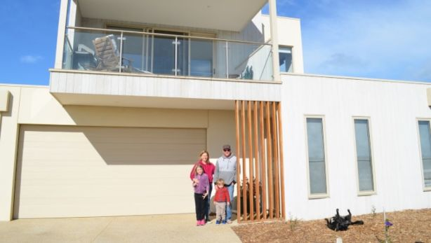 Last October, Charlotte Fraser, 44, and her family moved into their new four-bedroom home in The Point estate in Point Lonsdale.