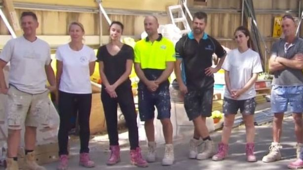 The contestants have a huge job ahead of them this week, with these kitchens absolutely enormous in size. Photo: Channel Nine