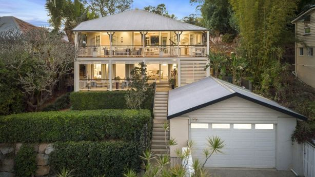 19 Siemon Street, Toowong, sits on an elevated double block and has beautiful river views.