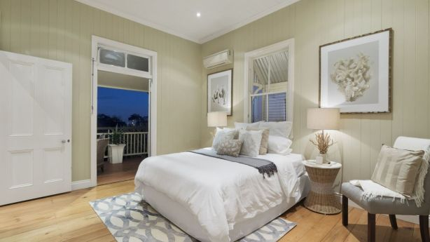 19 Siemon Street, Toowong features soft and sophisticated interiors.