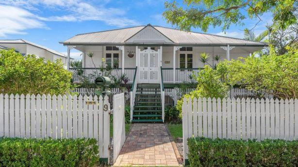 The historic Queenslander Crendon at 9 Cormack Street, Sherwood.
