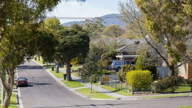Terrigal Road in Kilsyth is part of a neighbourhood attracting housing development. Photo: Greg Briggs