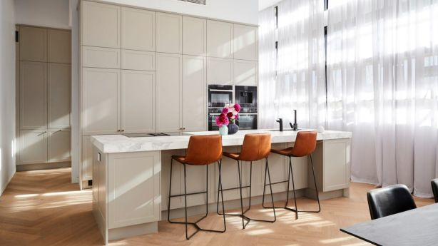 A luxe kitchen reno needs to have wow-factor to stand out. Photo: Channel Nine
