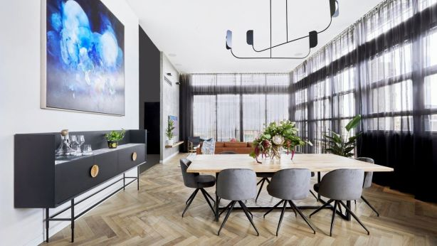 You've seen The Block apartments on TV, but do you have a chance to see them in person? Photo: Channel Nine