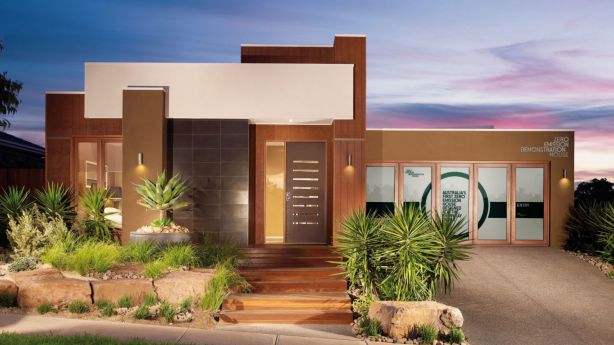 Carbon-neutral display home at Delfin Lend Lease's Laurimar estate in Melbourne's north east at Doreen.