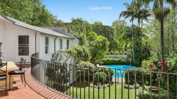The six-bedroom house goes to auction on November 8 with a guide of $7.5 million. Photo: Domain